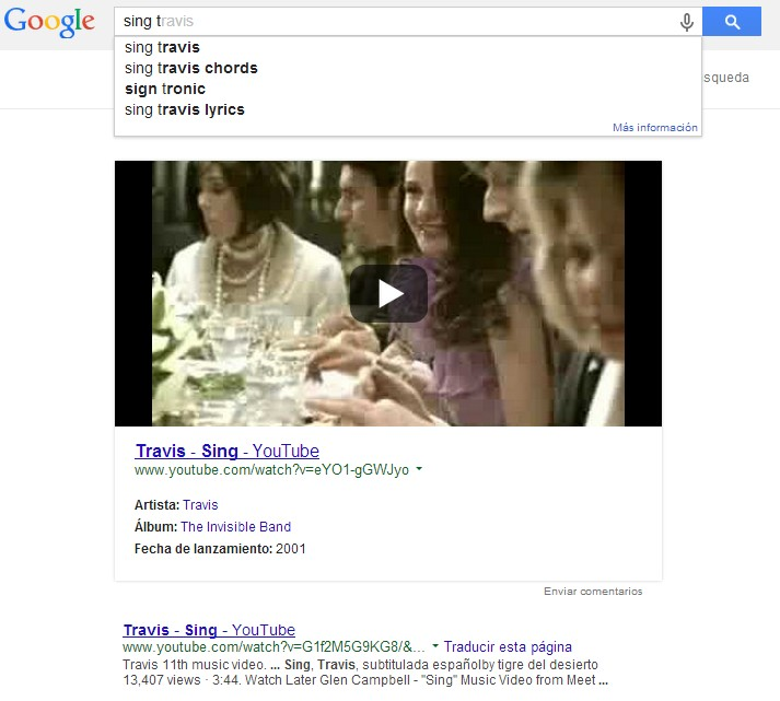 resultado video google
